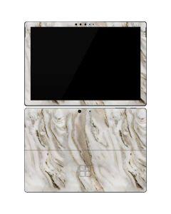 Vanilla Marble Surface Pro 7 Skin