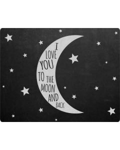 To The Moon And Back Galaxy Book Keyboard Folio 12in Skin