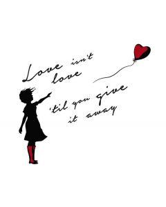 Love Isnt Love Til You Give It Away HP Pavilion Skin
