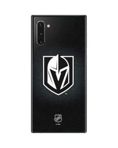Vegas Golden Knights Black Background Galaxy Note 10 Skin