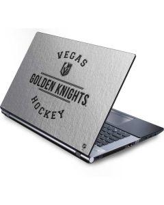 Vegas Golden Knights Black Text Generic Laptop Skin