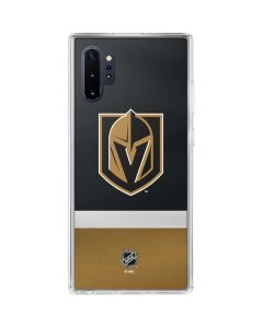 Vegas Golden Knights Jersey Galaxy Note 10 Plus Clear Case