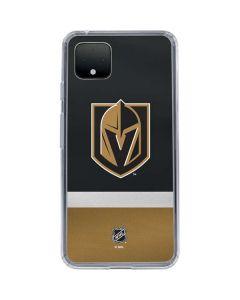 Vegas Golden Knights Jersey Google Pixel 4 Clear Case