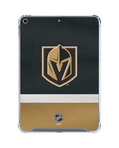 Vegas Golden Knights Jersey iPad 10.2in (2019-20) Clear Case