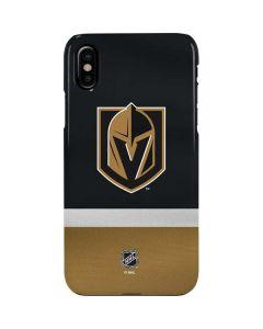 Vegas Golden Knights Jersey iPhone XS Max Lite Case