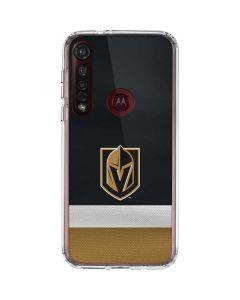 Vegas Golden Knights Jersey Moto G8 Plus Clear Case