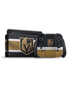 Vegas Golden Knights Jersey Nintendo Switch Bundle Skin