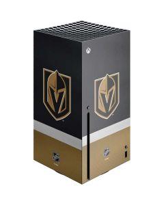 Vegas Golden Knights Jersey Xbox Series X Console Skin
