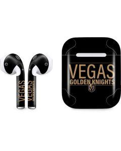 Vegas Golden Knights Lineup Apple AirPods Skin