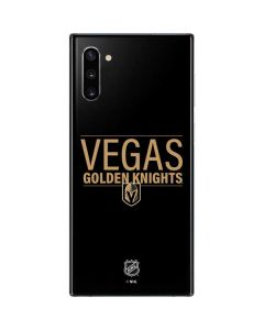 Vegas Golden Knights Lineup Galaxy Note 10 Skin