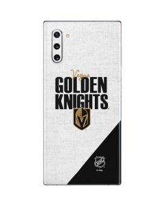 Vegas Golden Knights Script Galaxy Note 10 Skin