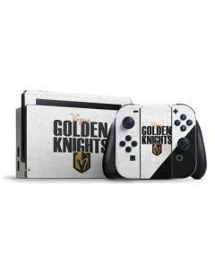 Vegas Golden Knights Script Nintendo Switch Bundle Skin
