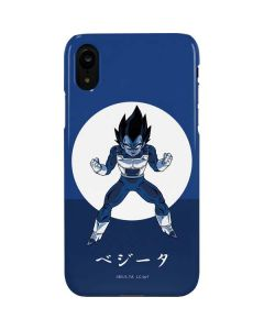Vegeta Monochrome iPhone XR Lite Case