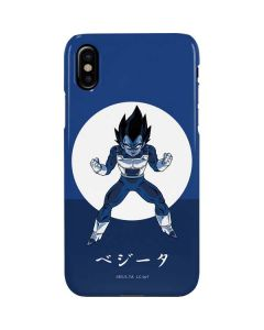 Vegeta Monochrome iPhone XS Max Lite Case