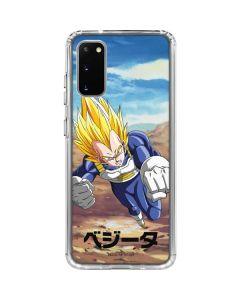 Vegeta Power Punch Galaxy S20 Clear Case