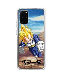Vegeta Power Punch Galaxy S20 Plus Clear Case