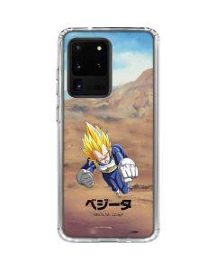 Vegeta Power Punch Galaxy S20 Ultra 5G Clear Case