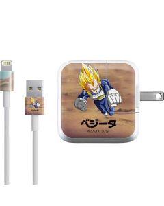 Vegeta Power Punch iPad Charger (10W USB) Skin