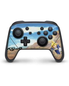 Vegeta Power Punch Nintendo Switch Pro Controller Skin