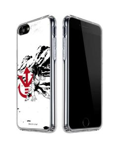Vegeta Wasteland iPhone SE Clear Case