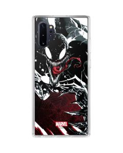 Venom Slashes Galaxy Note 10 Plus Clear Case