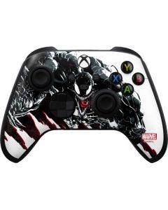 Venom Slashes Xbox Series X Controller Skin