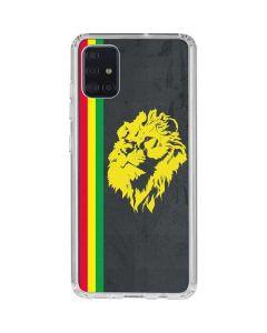 Vertical Banner - Lion of Judah Galaxy A51 Clear Case