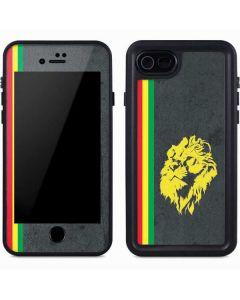 Vertical Banner - Lion of Judah iPhone 8 Waterproof Case