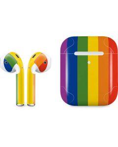 Vertical Rainbow Flag Apple AirPods 2 Skin