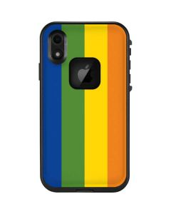 Vertical Rainbow Flag LifeProof Fre iPhone Skin