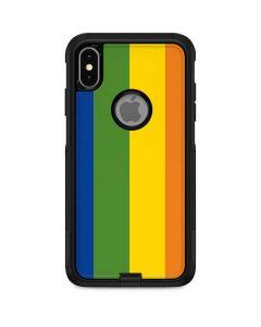 Vertical Rainbow Flag Otterbox Commuter iPhone Skin