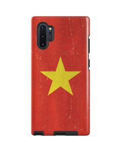 Vietnam Flag Distressed Galaxy Note 10 Plus Pro Case