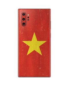 Vietnam Flag Distressed Galaxy Note 10 Plus Skin