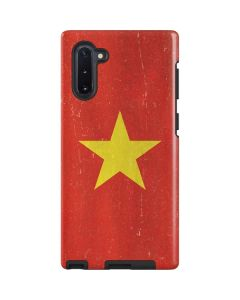 Vietnam Flag Distressed Galaxy Note 10 Pro Case