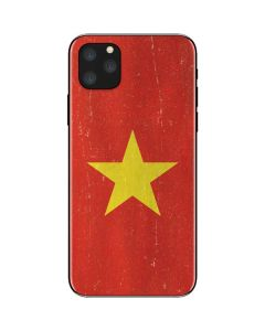 Vietnam Flag Distressed iPhone 11 Pro Max Skin