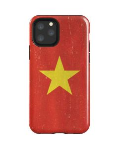 Vietnam Flag Distressed iPhone 11 Pro Impact Case