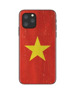 Vietnam Flag Distressed iPhone 11 Pro Skin
