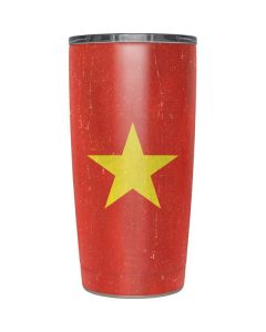 Vietnam Flag Distressed Yeti 20oz Tumbler Skin