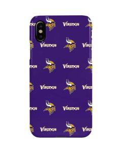 Minnesota Vikings Blitz Series iPhone XS Max Lite Case