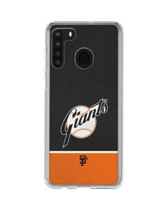Vintage Giants Galaxy A21 Clear Case