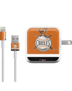 Vintage Orioles iPad Charger (10W USB) Skin