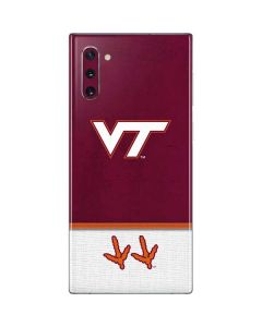 Virginia Tech Galaxy Note 10 Skin