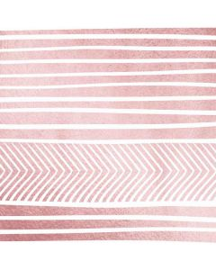 Pink and White Stripes Apple TV Skin