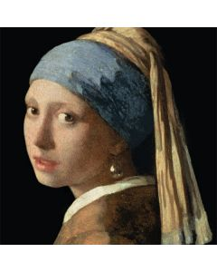 Girl with a Pearl Earring Moto E5 Plus Clear Case