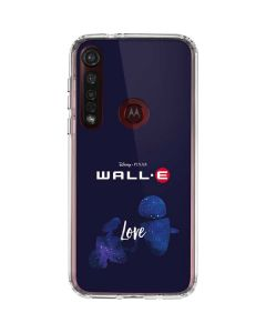 WALL-E Love Moto G8 Plus Clear Case