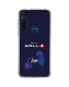 WALL-E Love Moto G8 Power Clear Case