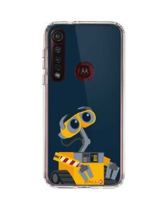 WALL-E Robot Moto G8 Plus Clear Case