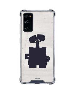 WALL-E Silhouette Galaxy S20 FE Clear Case