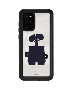 WALL-E Silhouette Galaxy S20 Plus Waterproof Case
