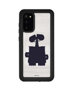 WALL-E Silhouette Galaxy S20 Waterproof Case